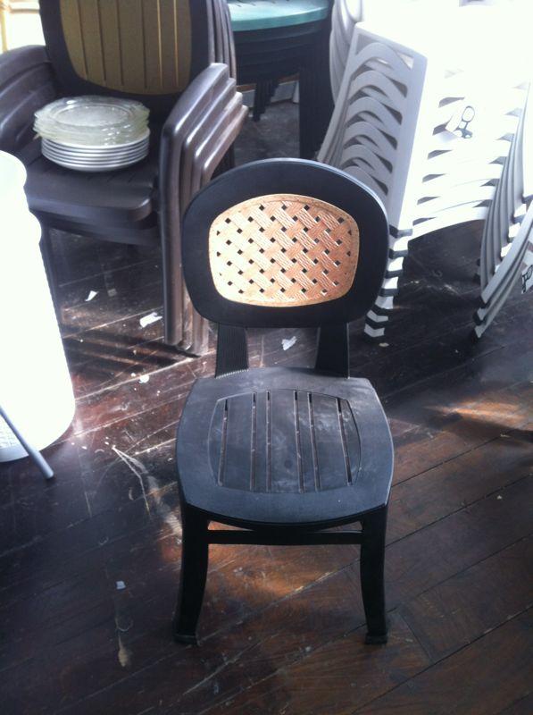 דגם קומפורט - כיסא לגינה