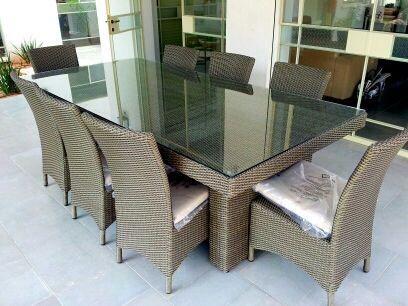 דגם שרון - שולחן לגינה מפוארת