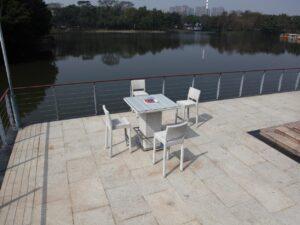 שולחן בר עם פתח + 4 כסאות מחיר