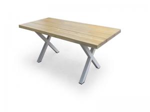 שולחן דגם לביא + 6 כסאות