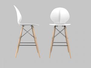 כיסא בר דגם מאיה 2 במגוון צבעים