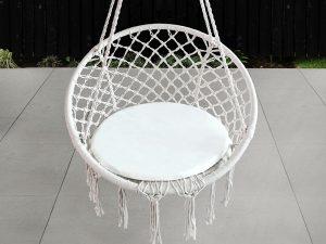 ערסל יחיד מקרמה כולל כרית מושב