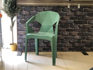 כיסא יהלום עם ידיות